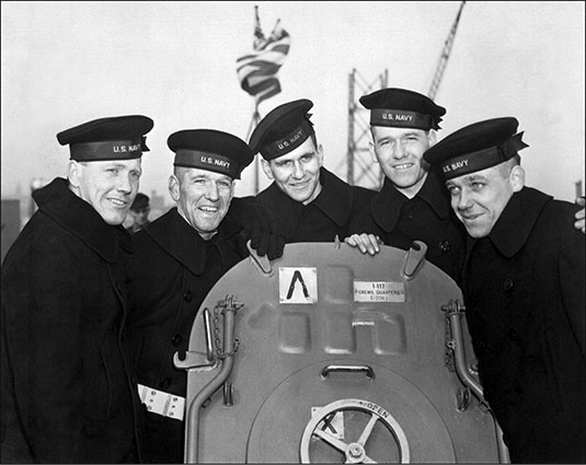 The Sullivan brothers were five siblings all killed in action during or shortly after the sinking of the light cruiser USS Juneau (CL-52), the vessel on which they all served, around November 13, 1942, in World War II