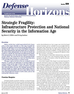 Infrastructure Protection and National Security in the Information Age