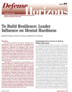 Leader Influence on Mental Hardiness