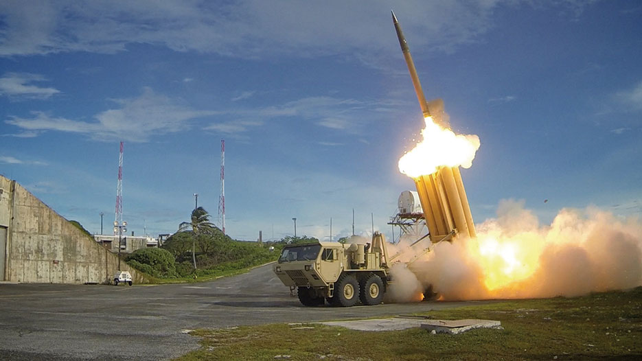 Two THAAD interceptors launched during test, which resulted in intercept of one MRBM target by THAAD and one MRBM target by Aegis Ballistic Missile Defense (DOD)