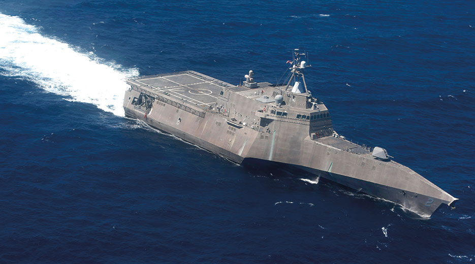 USS Independence, Littoral Combat Ship 2 (U.S. Navy/Carlos Gomez)