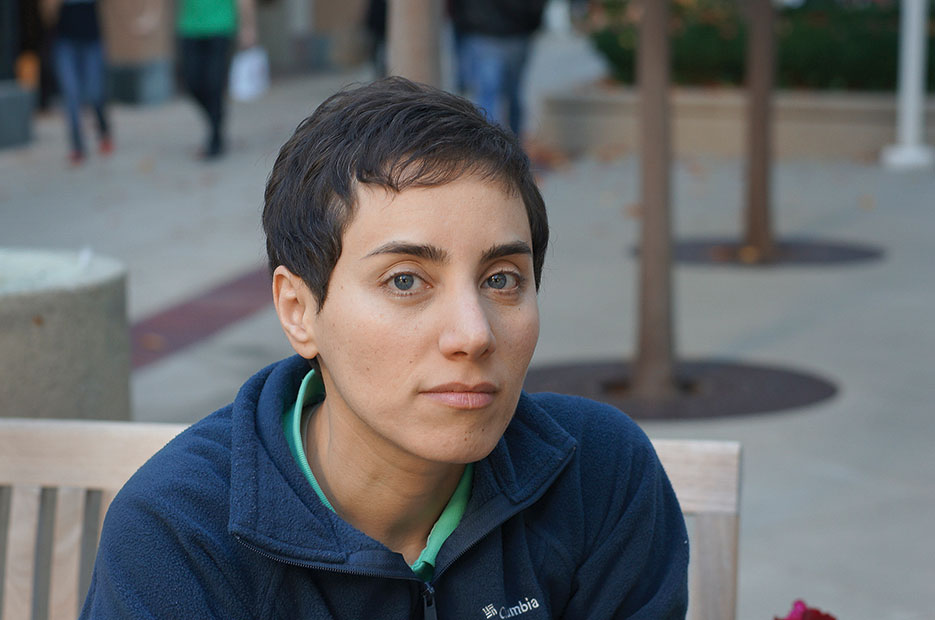 Maryam Mirzakhani was awarded 2014 Fields Medal—International Congress of Mathematicians' first female prize winner in its 80-year history—for 'her outstanding contributions to the dynamics and geometry of Riemann surfaces and their moduli spaces' (courtesy of Maryam Mirzakhani)