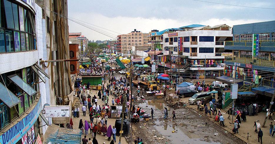 Garissa Market in Nairobi suburb Eastleigh (Dan Kori/Wikipedia)