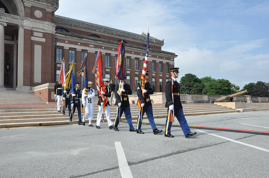National Defense University's 2015 graduation took place on June 18 at historic Fort Lesley J. McNair in Washington, DC (NDU/Katie Lewis)