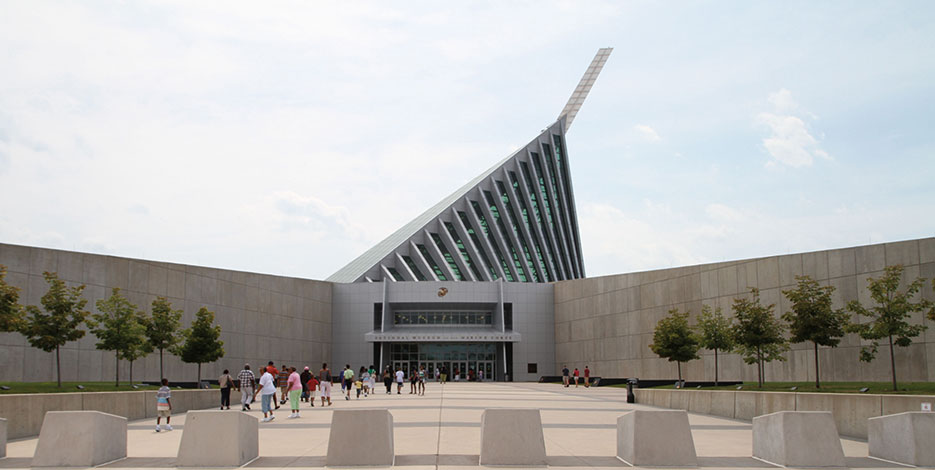 National Museum of the Marine Corps, located in Triangle, Virginia, next to Marine Corps Base Quantico, is center for all Marine Corps history (U.S. Marine Corps)