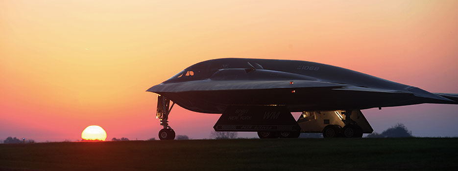 B-2 Spirit bomber provides vital support to U.S. Strategic Command's global strike and bomber assurance and deterrence missions (U.S. Air Force/Joel Pfiester)