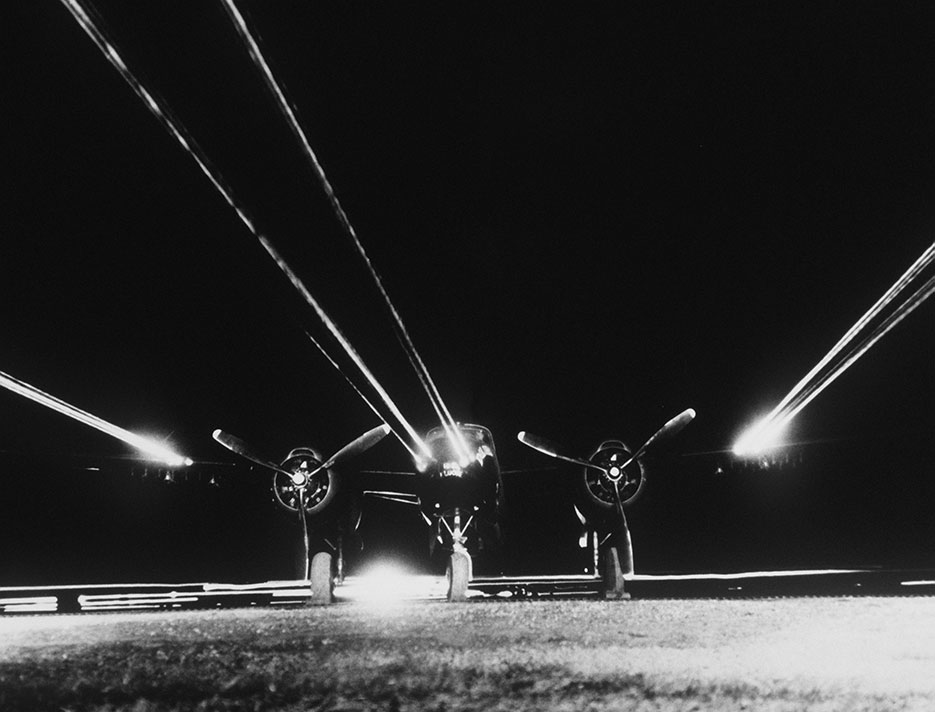 B-26 Invader prepares for night intruder mission over North Korea (DOD/Air and Space Museum)