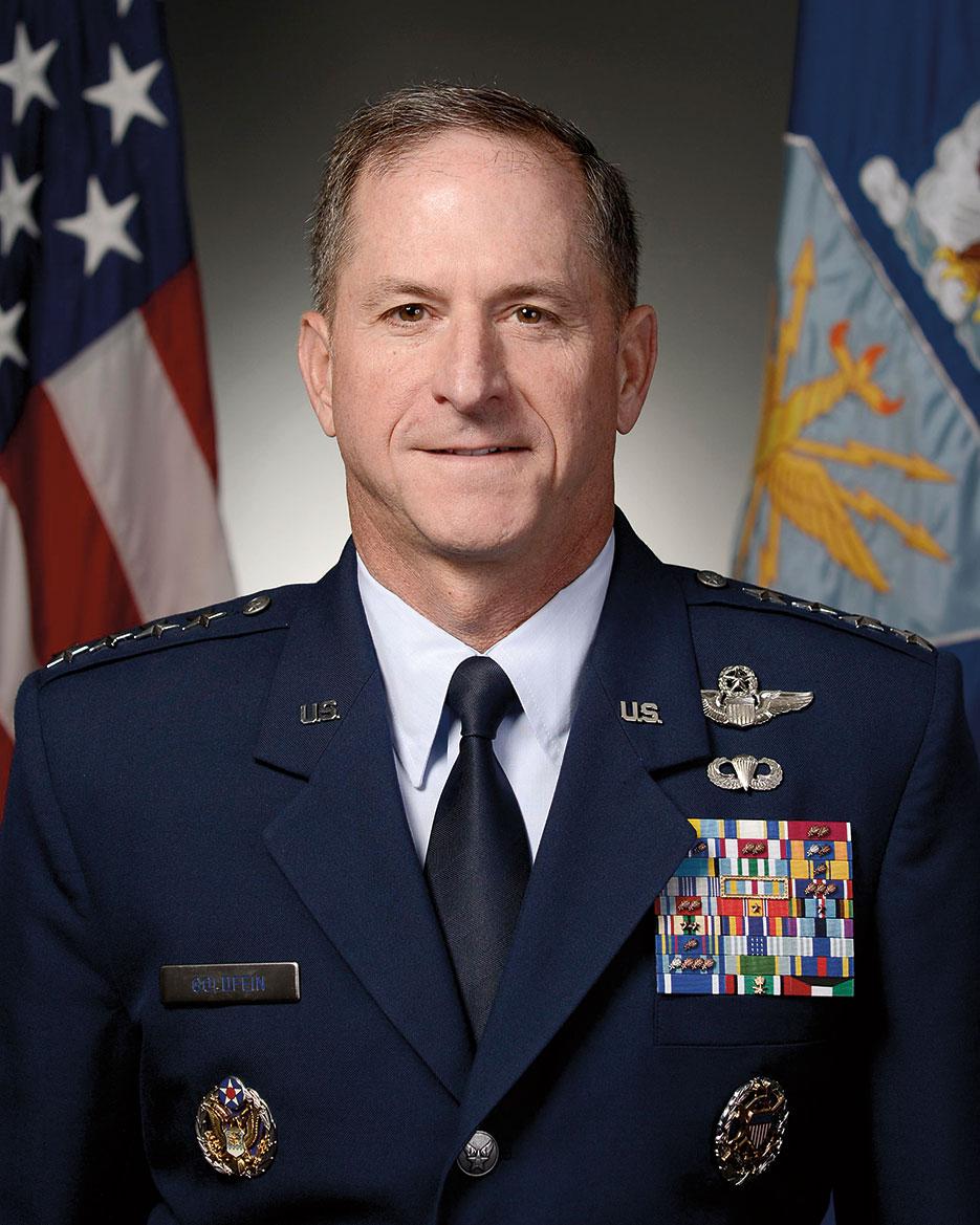 General David L. Goldfein is Chief of Staff of the U.S. Air Force (DOD)