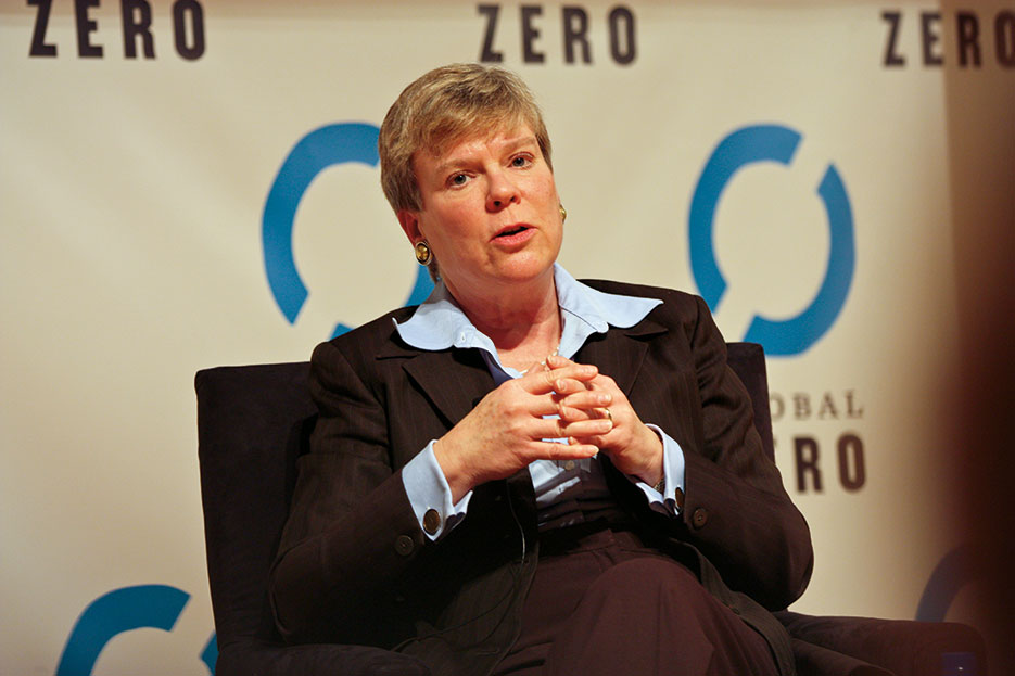 Under Secretary for Arms Control and International Security Rose Gottemoeller delivers remarks at Global Zero Conference, Yale University, February 18, 2012 (State Department)